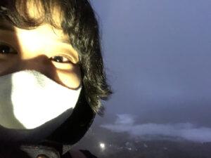 北海道の雲海テラスでの写真